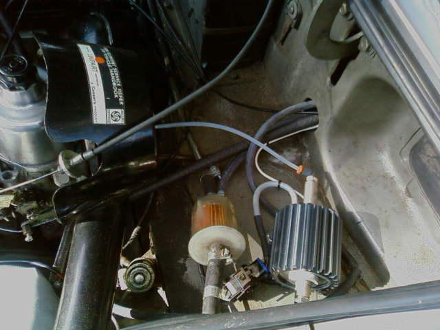 Cooling down with water injection - MGB