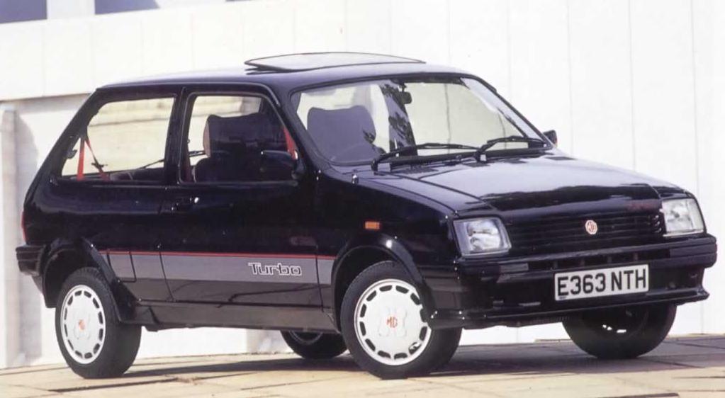 MG Metro Turbo door transfers