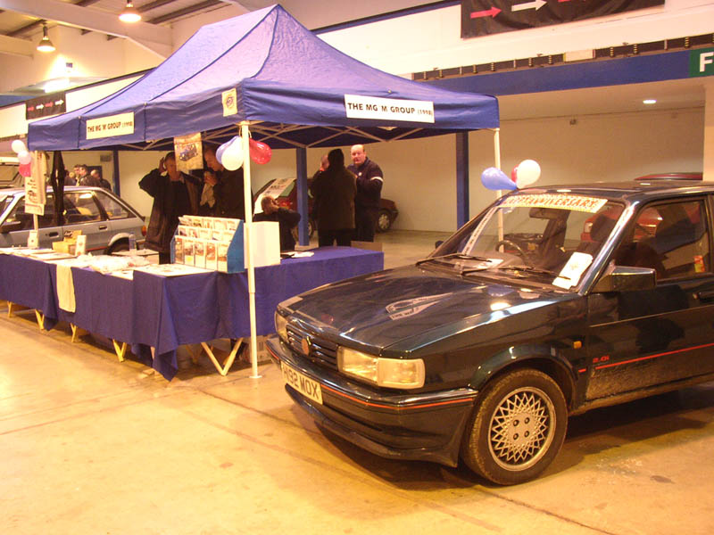 MG Maestro 1600 with balloons