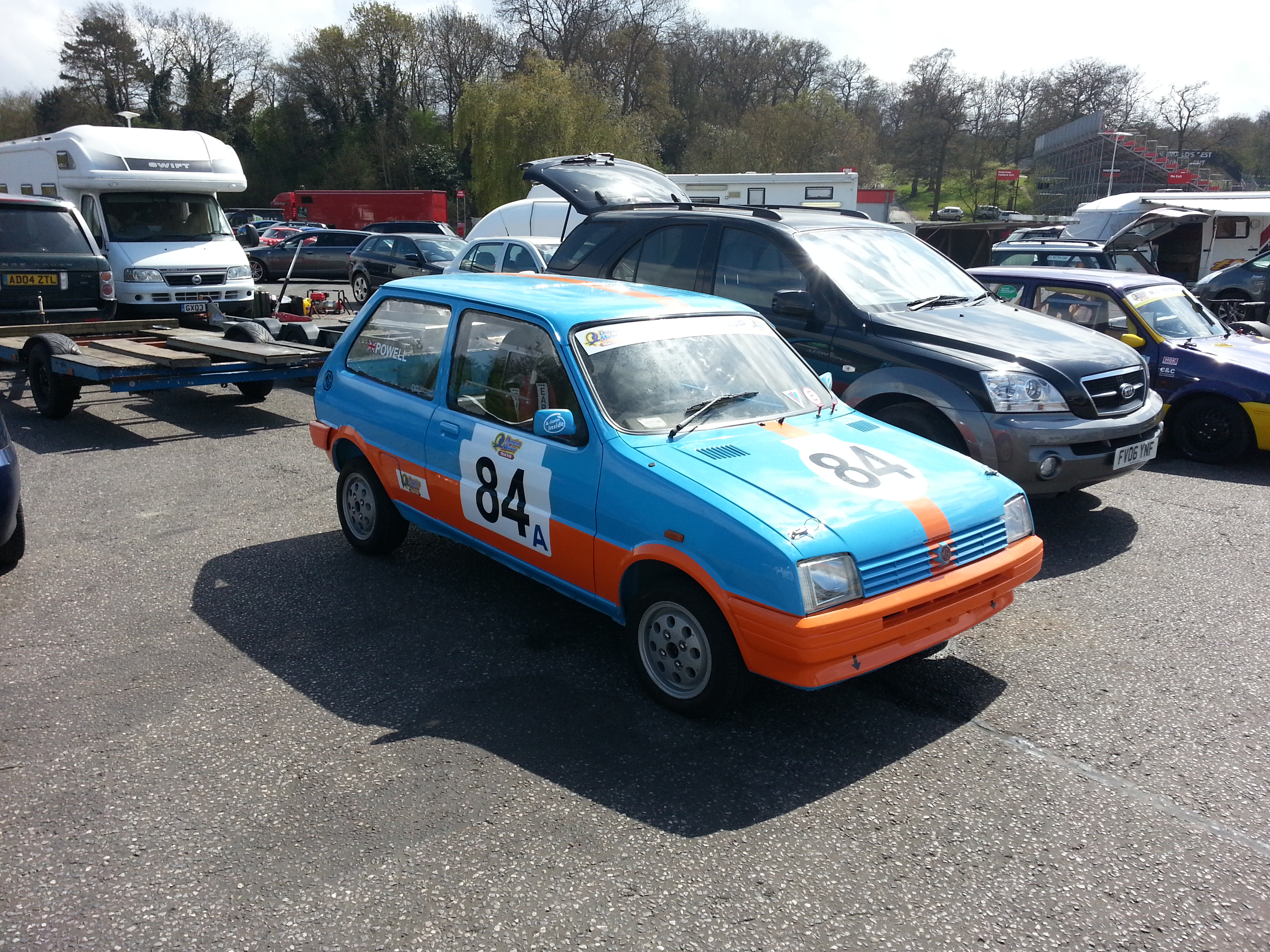 MG Metro Cup Brands Hatch 2013 Review