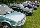 MG 'M' Group members line up