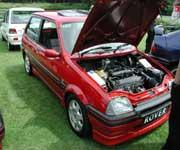 Rover Metro GTi with showroom plate