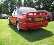 Flame Red Montego Turbo with Wood & Pickett kit
