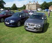 X-Power Grey MG ZR and 2004 MG ZS