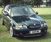 Superb MG ZS 180 with great plate
