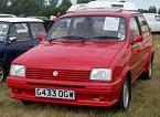 Late MG Metro Turbo spotted on Austin-Rover stand