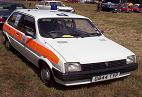 Metro in Police livery spotted in field