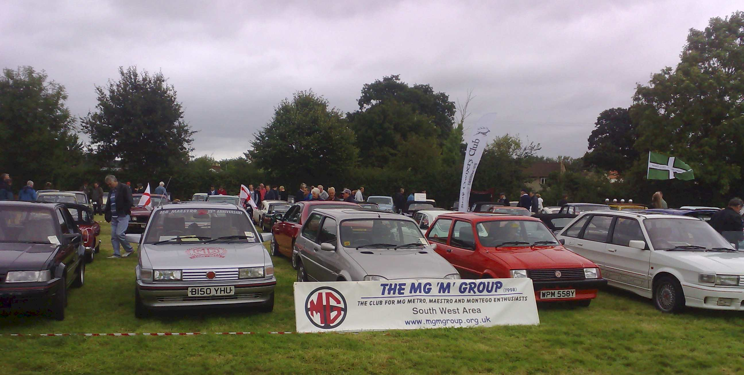 MG 'M' cars join the other MGs to give a good model range to compete with the other attendees.