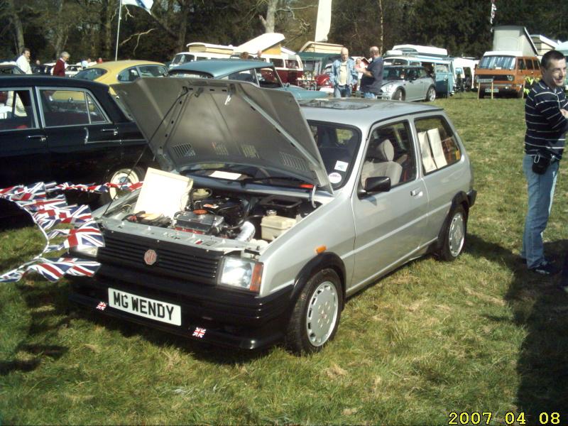 MG Metro 1300 with Turbo bodykit