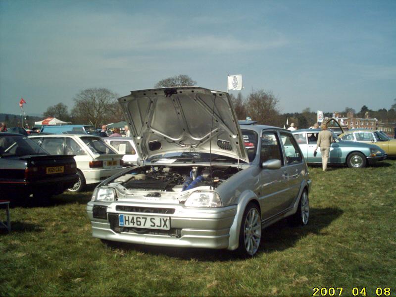 Rover Metro with 1.8 Turbo engine