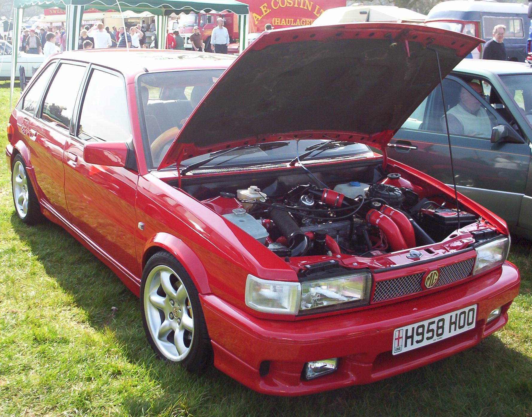 MG Maestro Turbo no.396