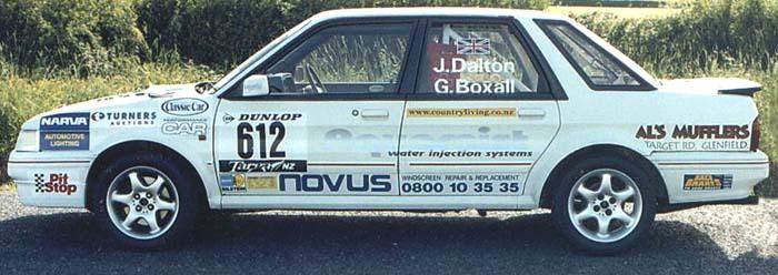 MG Montego Turbo - John Dalton / Gary Boxall - UK