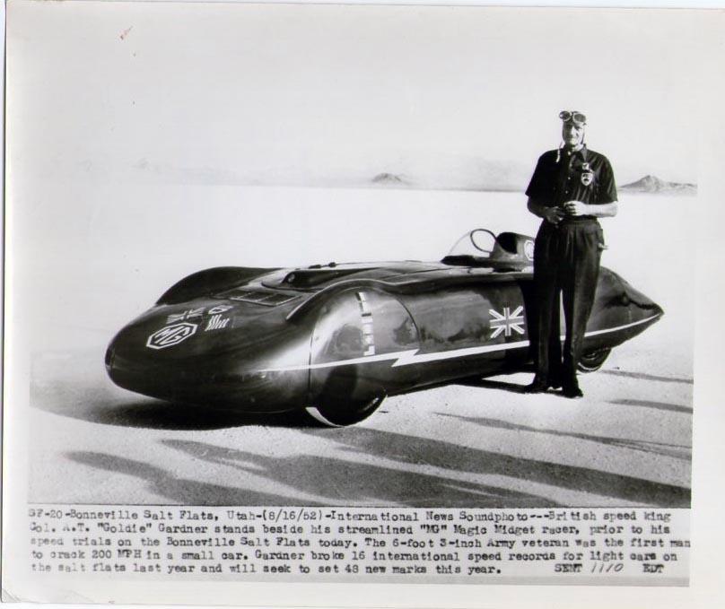 Jim Moffett Race Car Driver