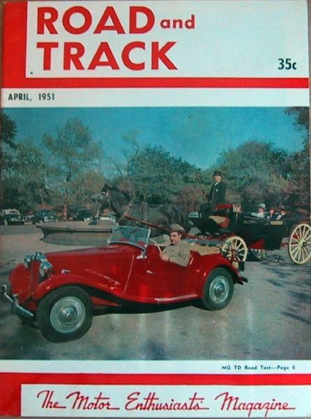 The Original MGTD Midget - Magazines