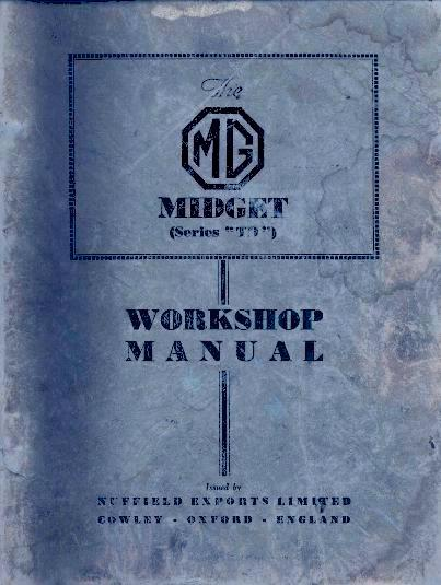 the original mgtd midget details general data