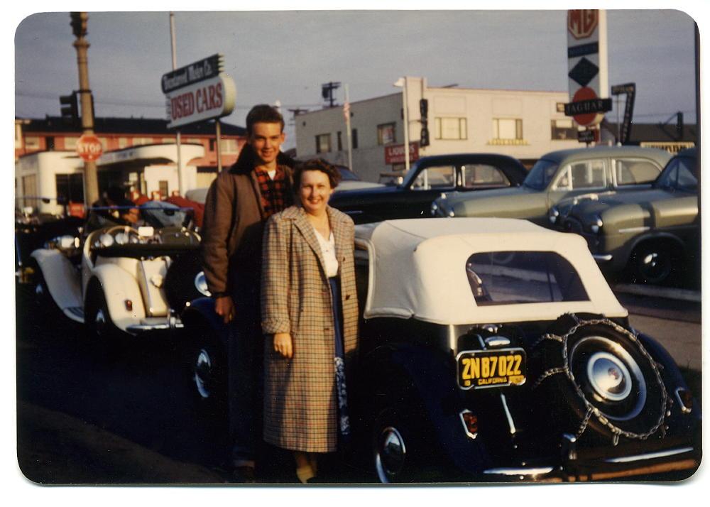 1950s midget car photo