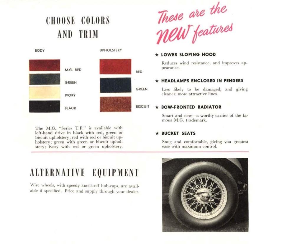 Mg Paint Colours