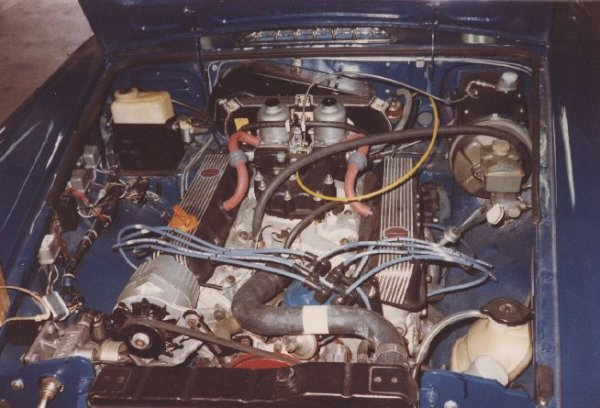 mgb v8 conversions by roger parker