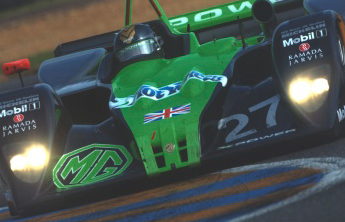 Julian Bailey in the MG Lola EX257 at Le Mans - June 2002