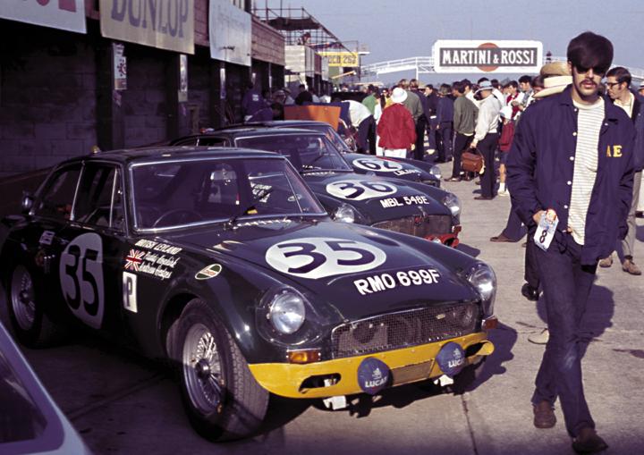 Image result for mgb gt race car sebring
