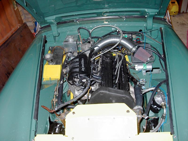 K series engine midget