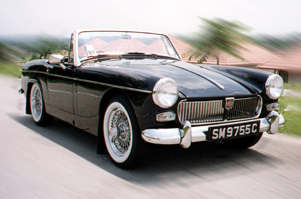 Agree with 73 mg midget miles per gallon that's