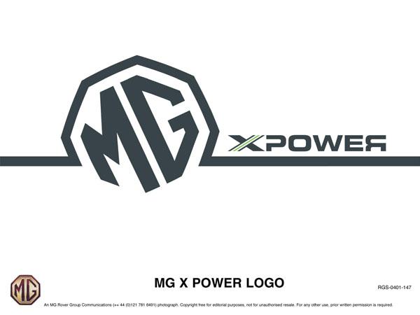 Racing In Car >> MG X Power Logo